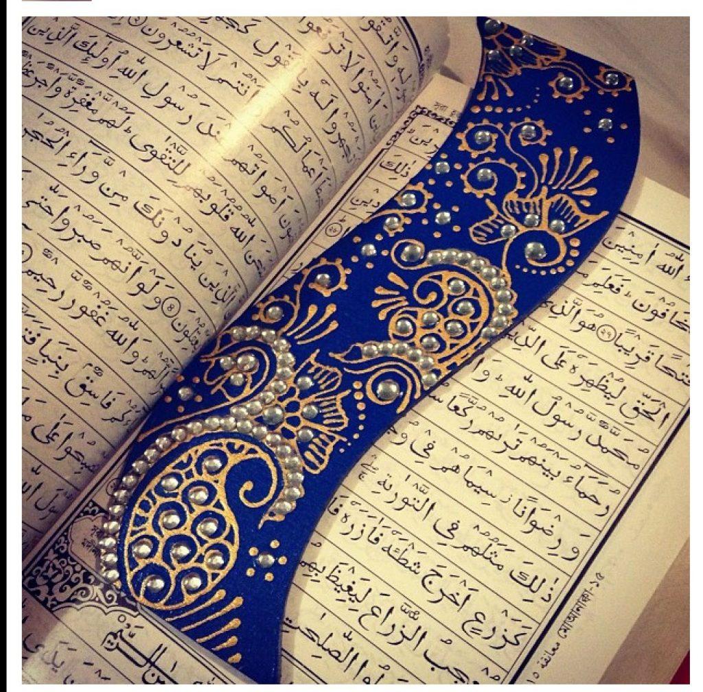 creative ideas using henna patterns in crafts bookmark