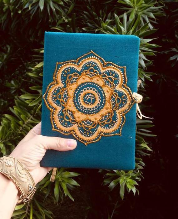 creative ideas using henna patterns in crafts notebook