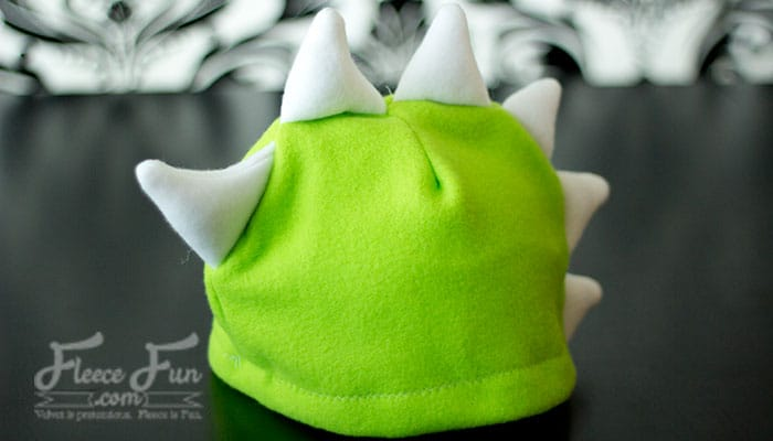 17 easy sewing projects for kids fleece hat