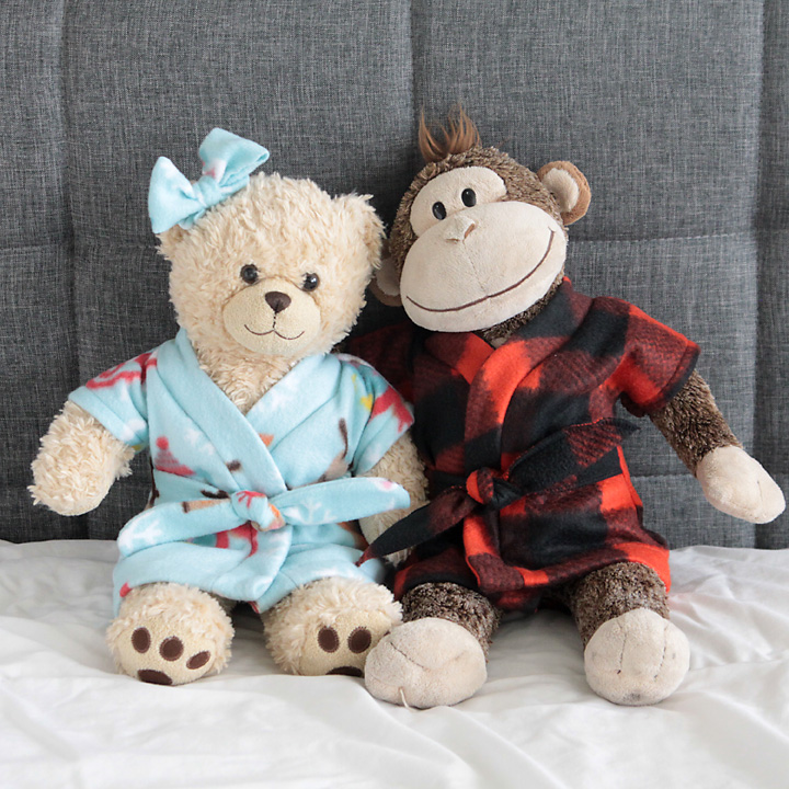 17 easy sewing projects for kids teddy bear robe
