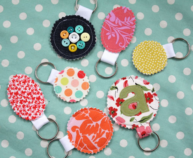 17 easy sewing projects for kids keychains