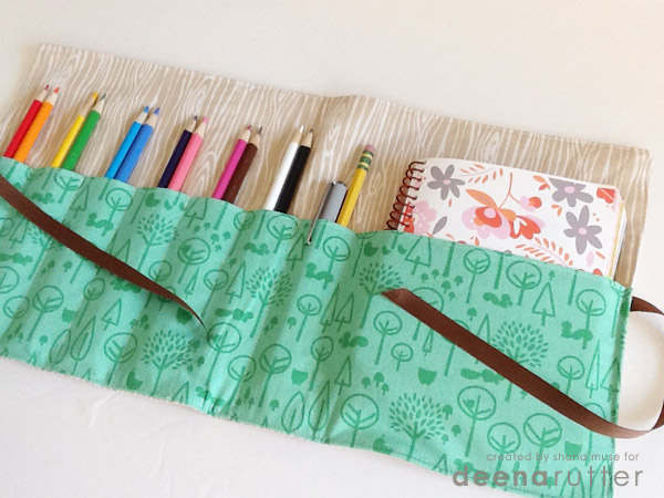 17 easy sewing projects for kids pencil case