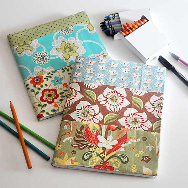 17 easy sewing projects for kids notebook cover