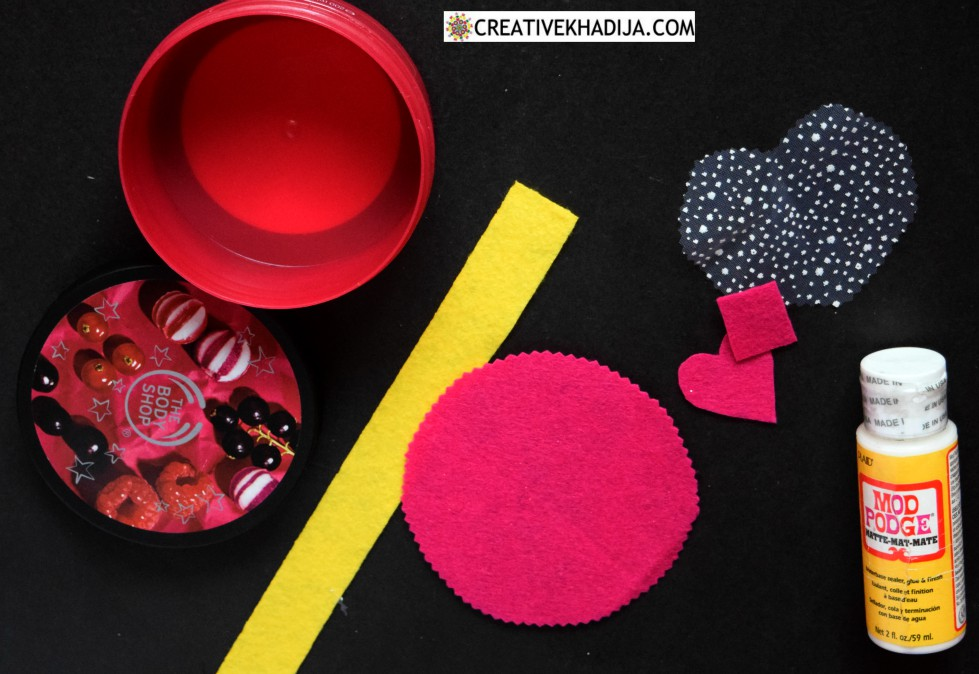Reuse Recycle and Recreate a Gift Jar for Valentine's Day