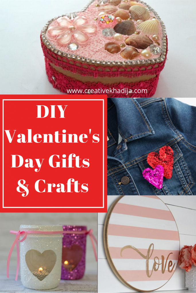 Easy DIY gifts and crafts ideas for Valentine's Day 2020