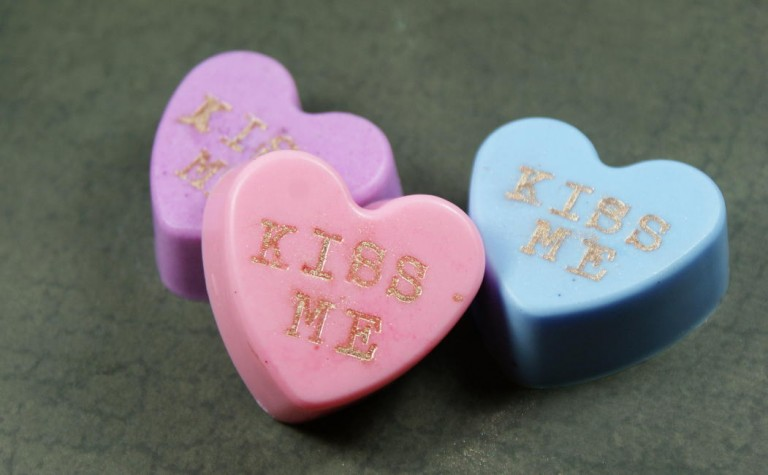 31 gifts and crafts to try for valentine's day 2020 heart shaped soaps