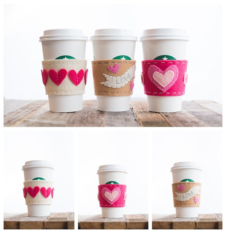 31 gifts and crafts to try for valentine's day 2020 cup sleeve