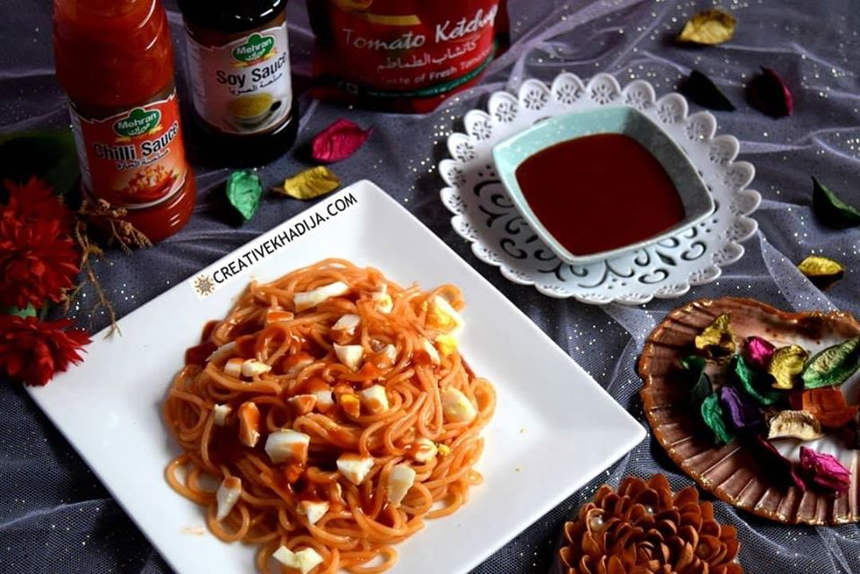 How To Make spaghetti by Available Vegetables at Home