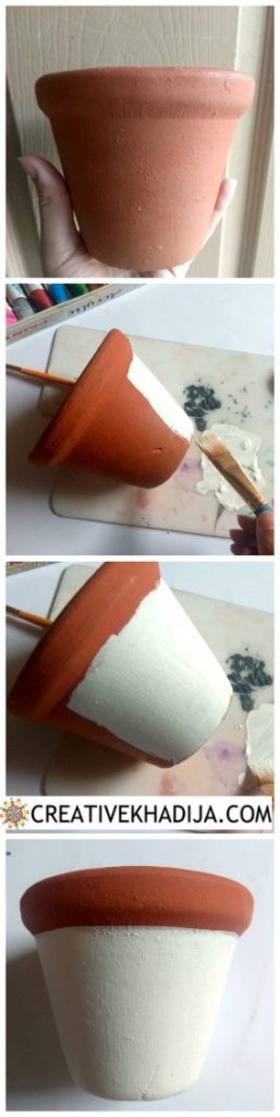 How To Paint Clay Pots With Acrylic Paints