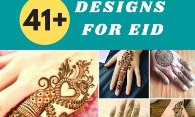 easy Mehndi Designs For Eid ul fitar 2020