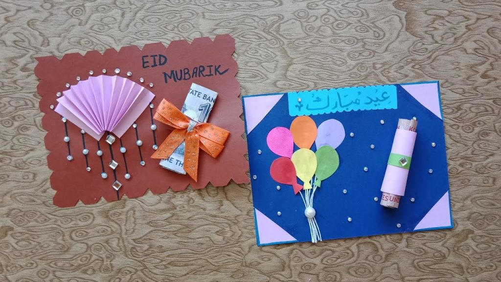 easy crafts for making eidi envelopes for eid ul fitar 2020