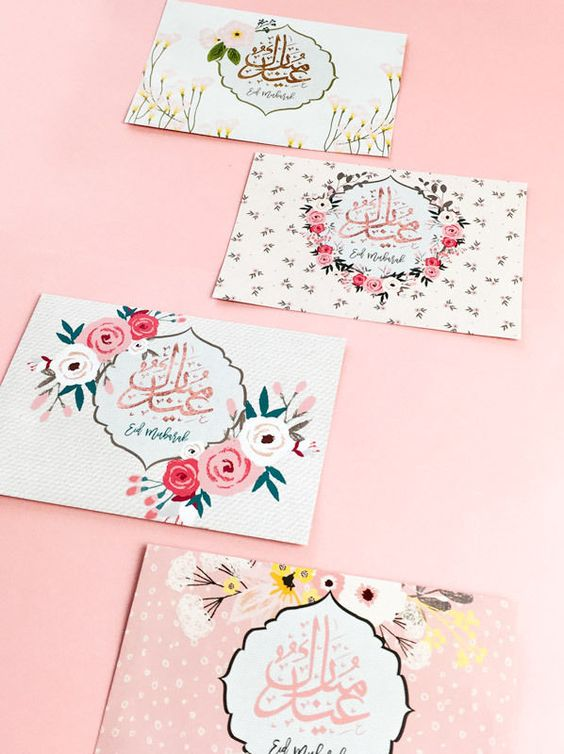 easy crafts for making eidi envelopes printable cards