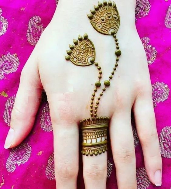 41 mehndi designs for Eid to try this year for fingers 7