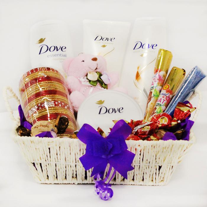 gift basket ideas for eid ul fitar 2020 skincare basket