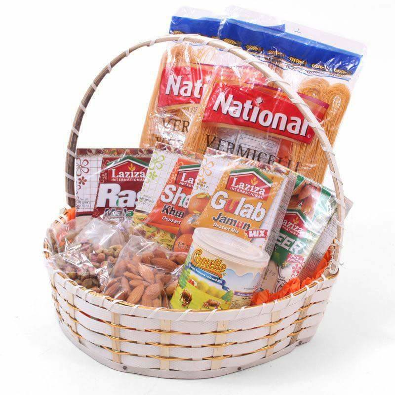gift basket ideas for eid ul fitar 2020 sweet dish basket