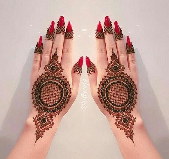 41 mehndi designs for Eid to try this year mandala designs 2