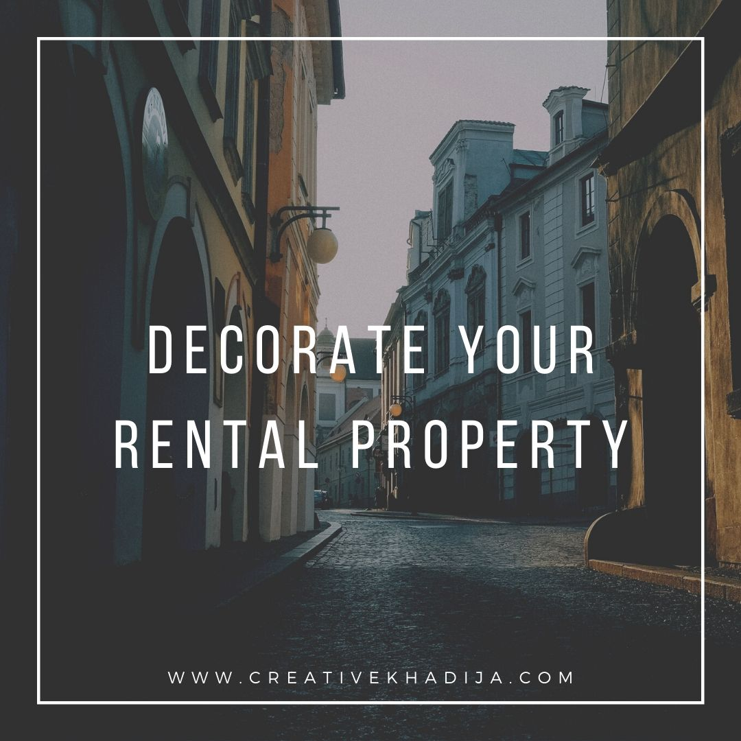 Decorate-Your-Rental-Property