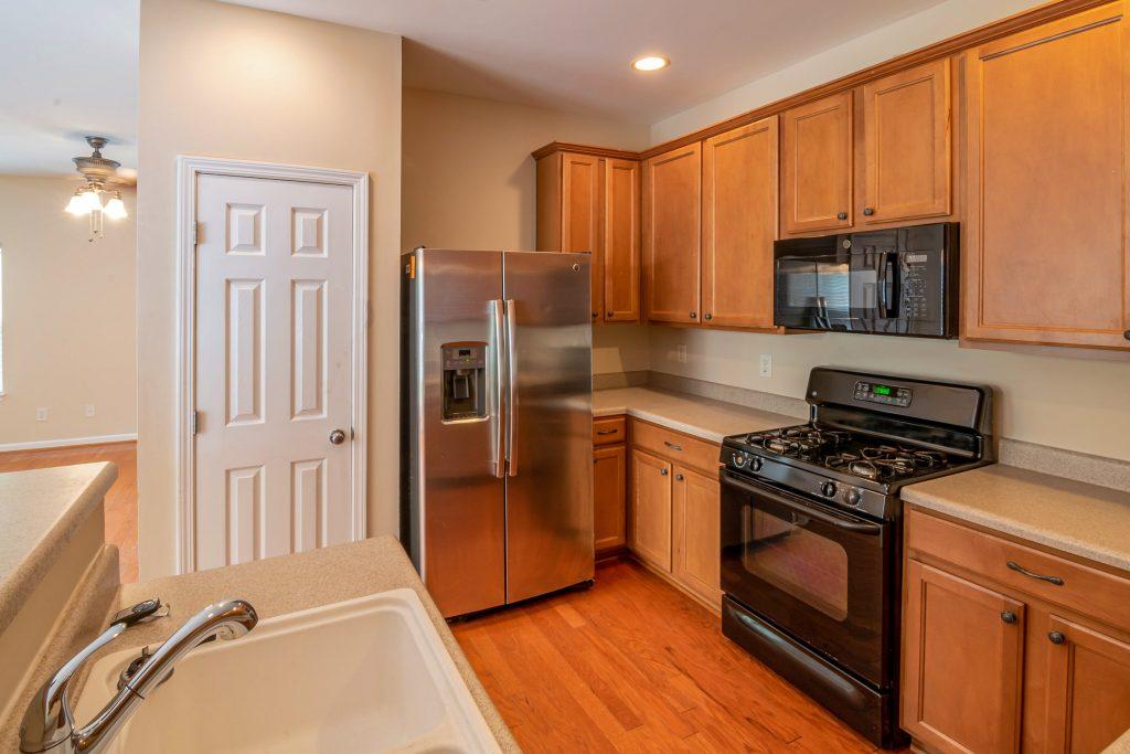 rental property upgrading the kitchen