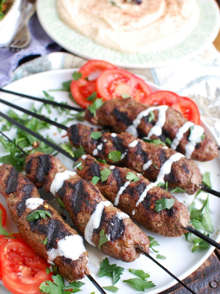 beef bbq recipes kafta kebabs