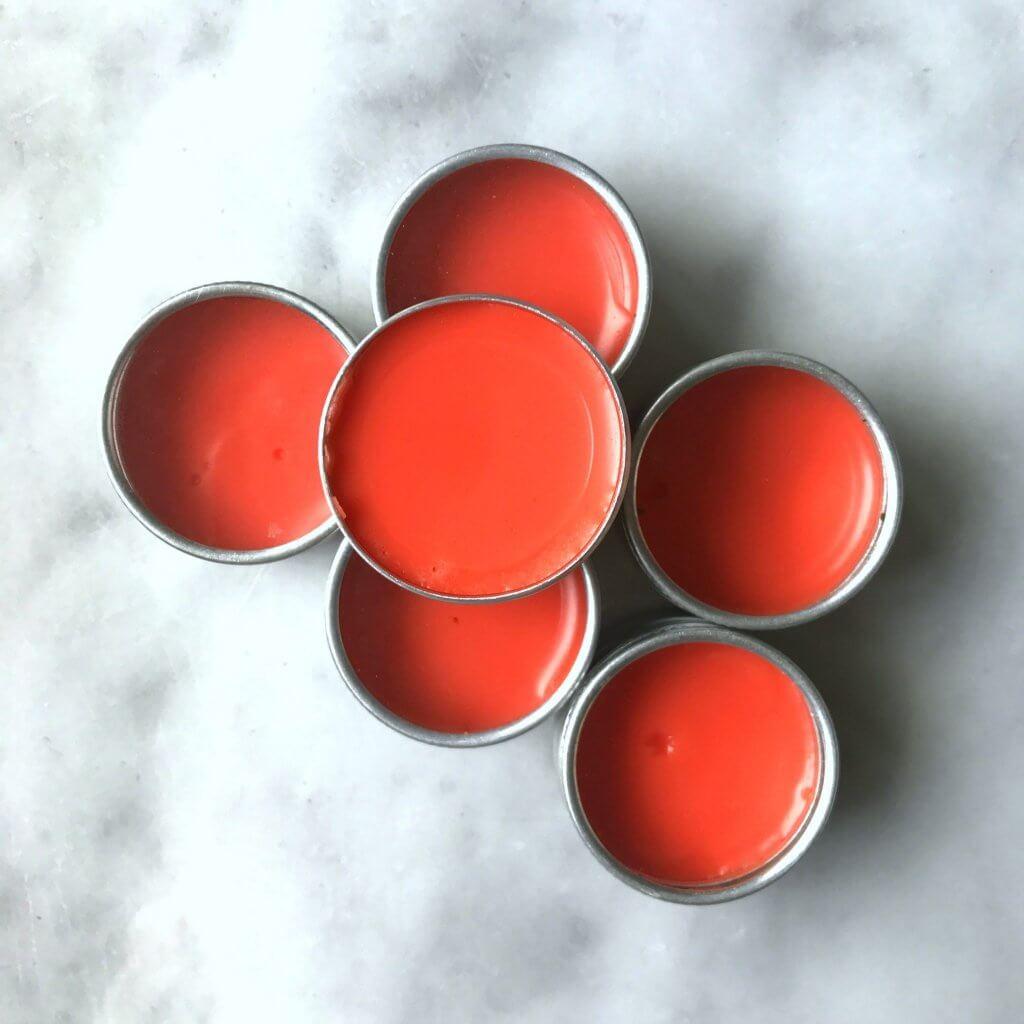 DIY lip balm with manuka honey