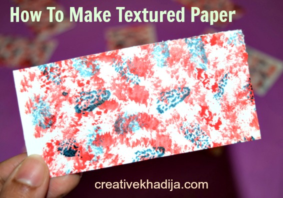 creative khadija greeting card design textured card