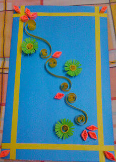 creative khadija greeting card design paper quilling