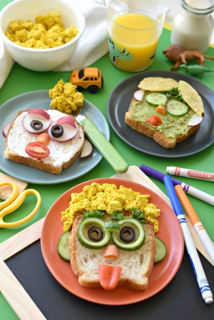 ideas for kids breakfast toast
