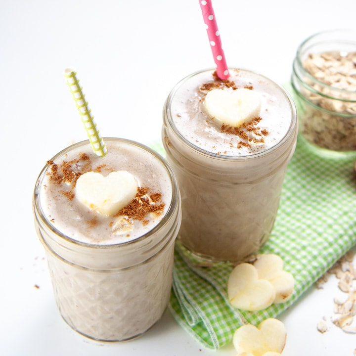 ideas for kids breakfast apple smoothie