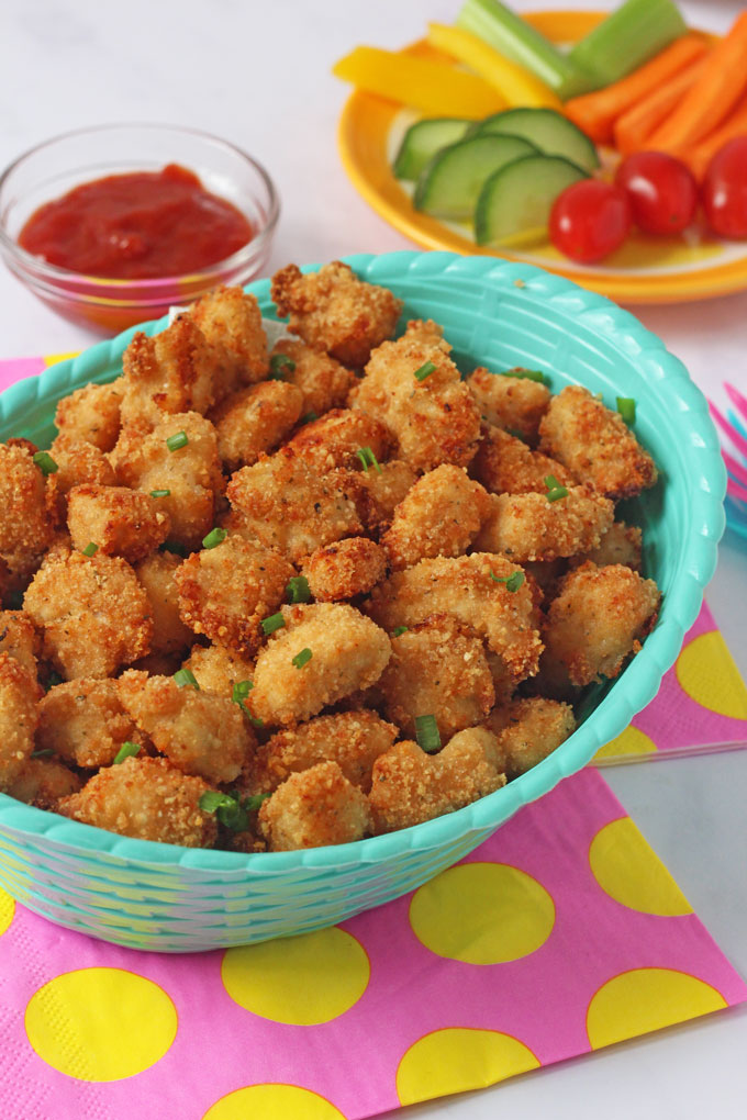 ideas for kids lunches popcorn chicken
