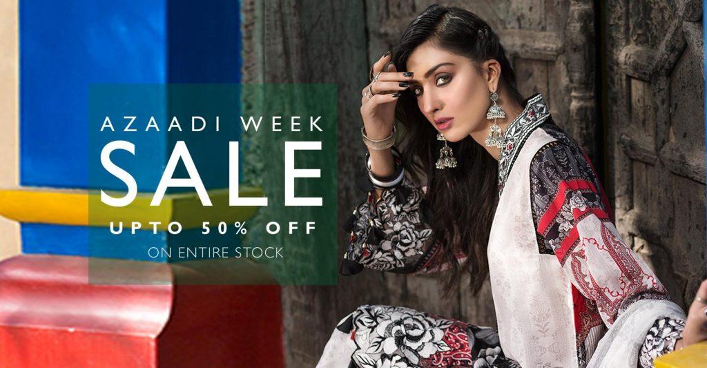 azadi deals and discounts on pakistani designer lawn brands mohagni