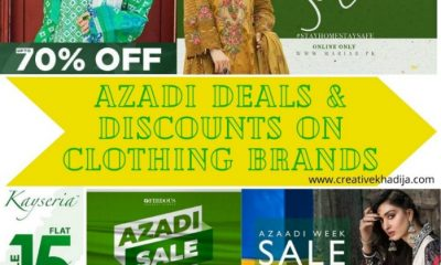 azadi deals and discounts on pakistani designer lawn brands
