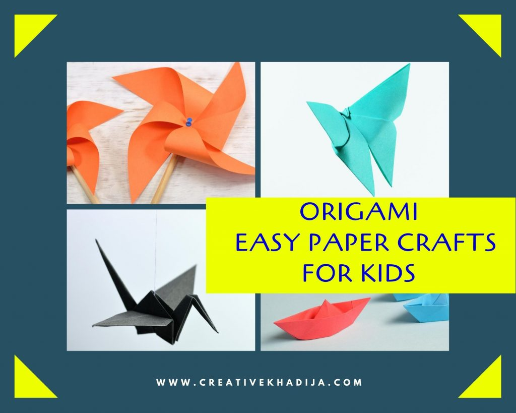 Easy Origami for Kids Arts and Crafts Projects