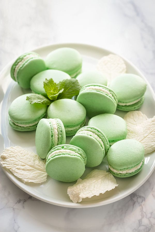 food ideas for independence day celebration french macarons