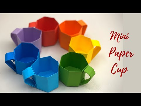 fun projects of origami for beginners paper cups