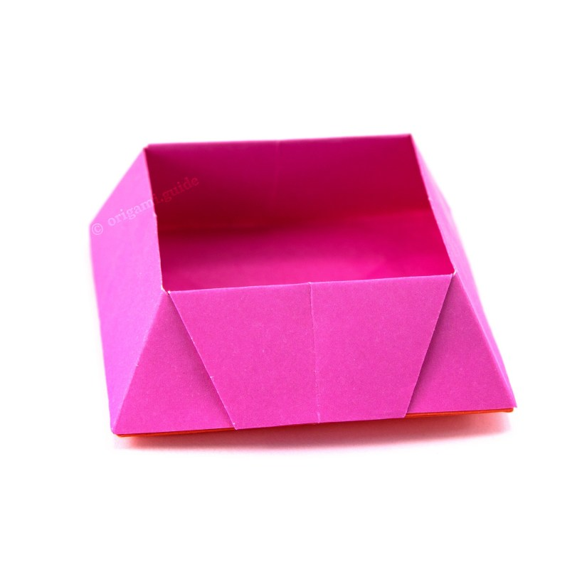 fun projects of origami for beginners candy box