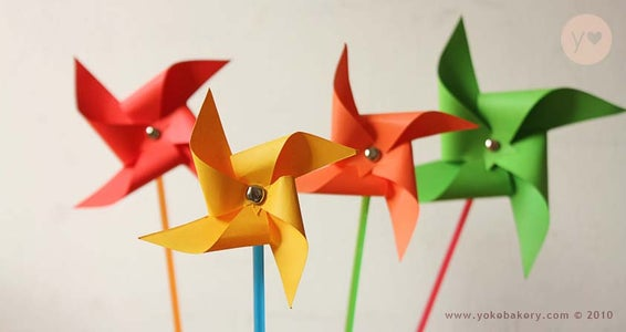 fun projects of origami for beginners pinwheel