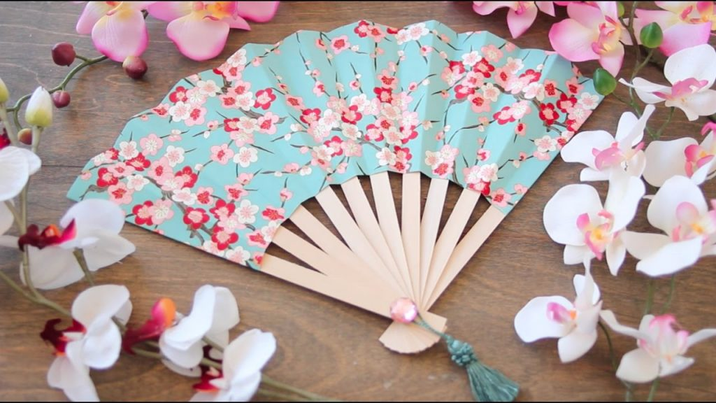 fun projects of origami for beginners japanese fan