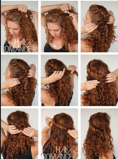 how to style curly hair open hair hairstyle