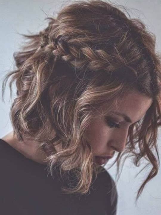 how to style short curly hair braided curls