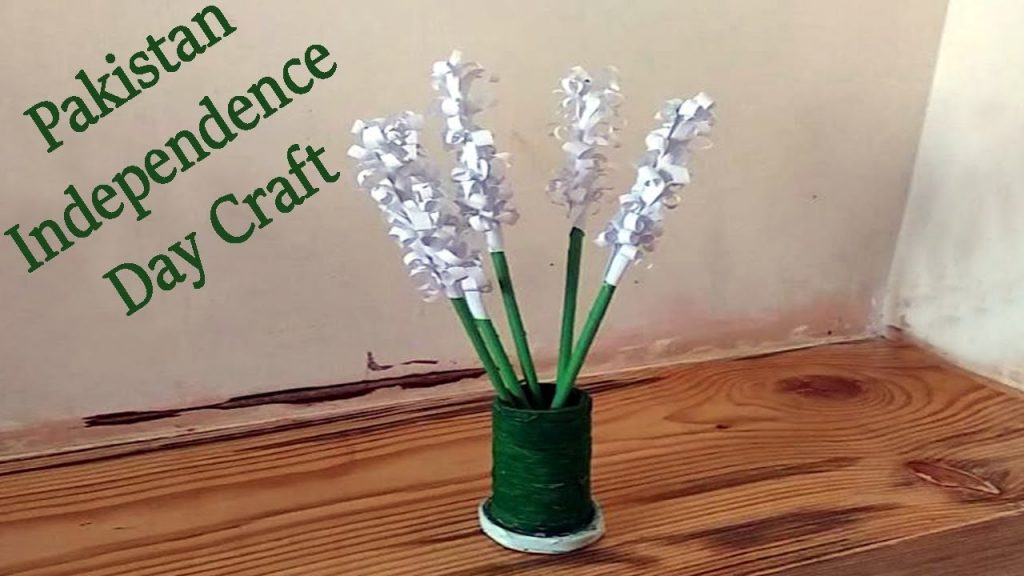 independence day 2020 easy paper crafts for kids bouquet