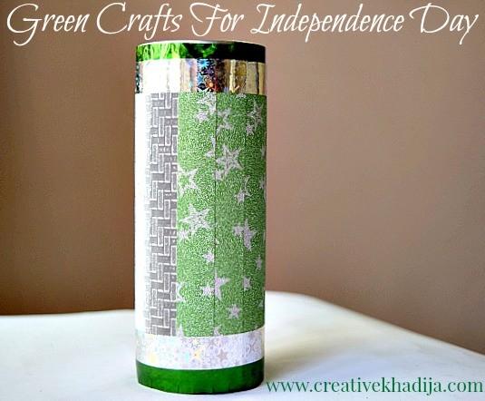 independence day crafts by creative khadija azadi tin craft