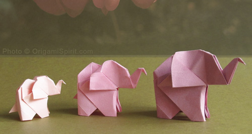 making animals as easy origami for kids elephants