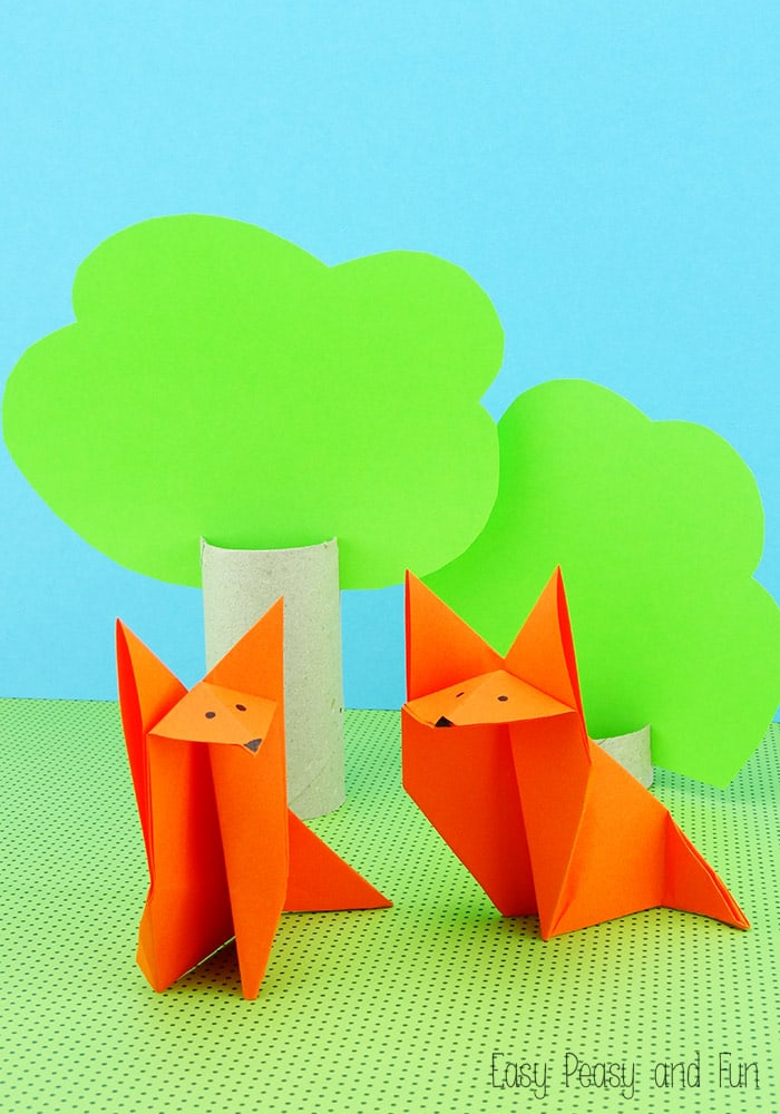 how to make origami paper crafts