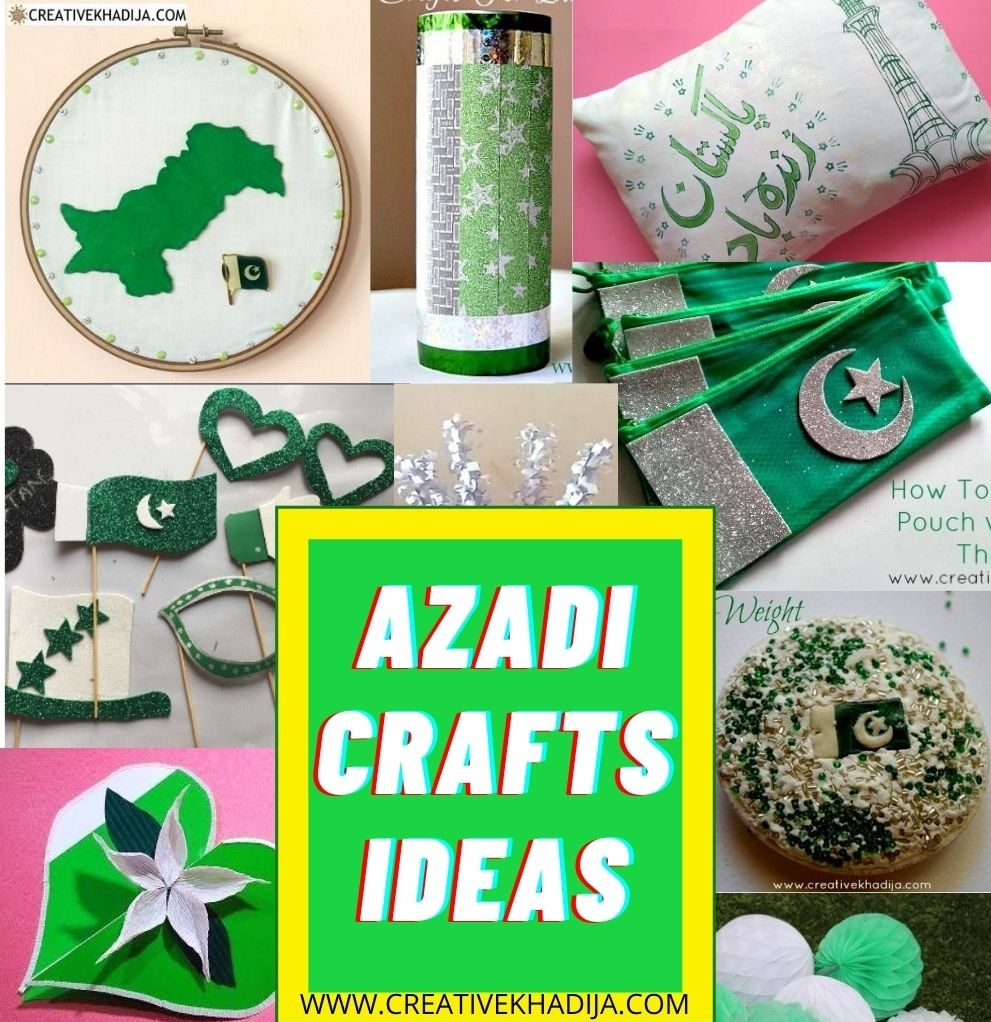 Pakistan Independence day celebration easy crafts ideas and decoration