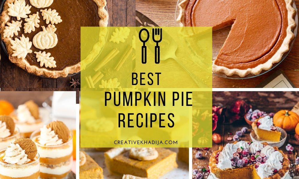 best pumpkin pie recipes collection