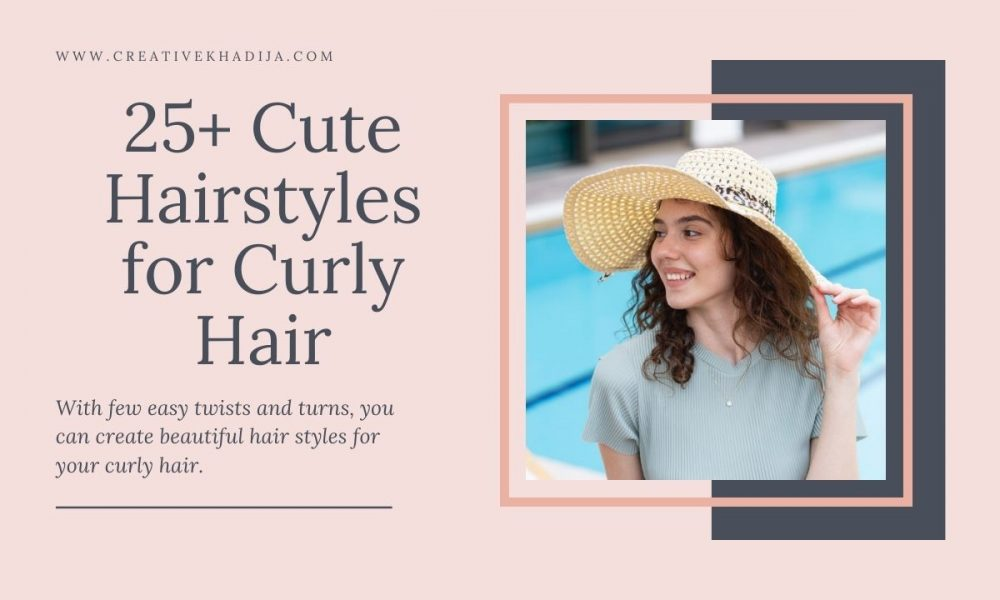 how to style short curly hair romantic curls