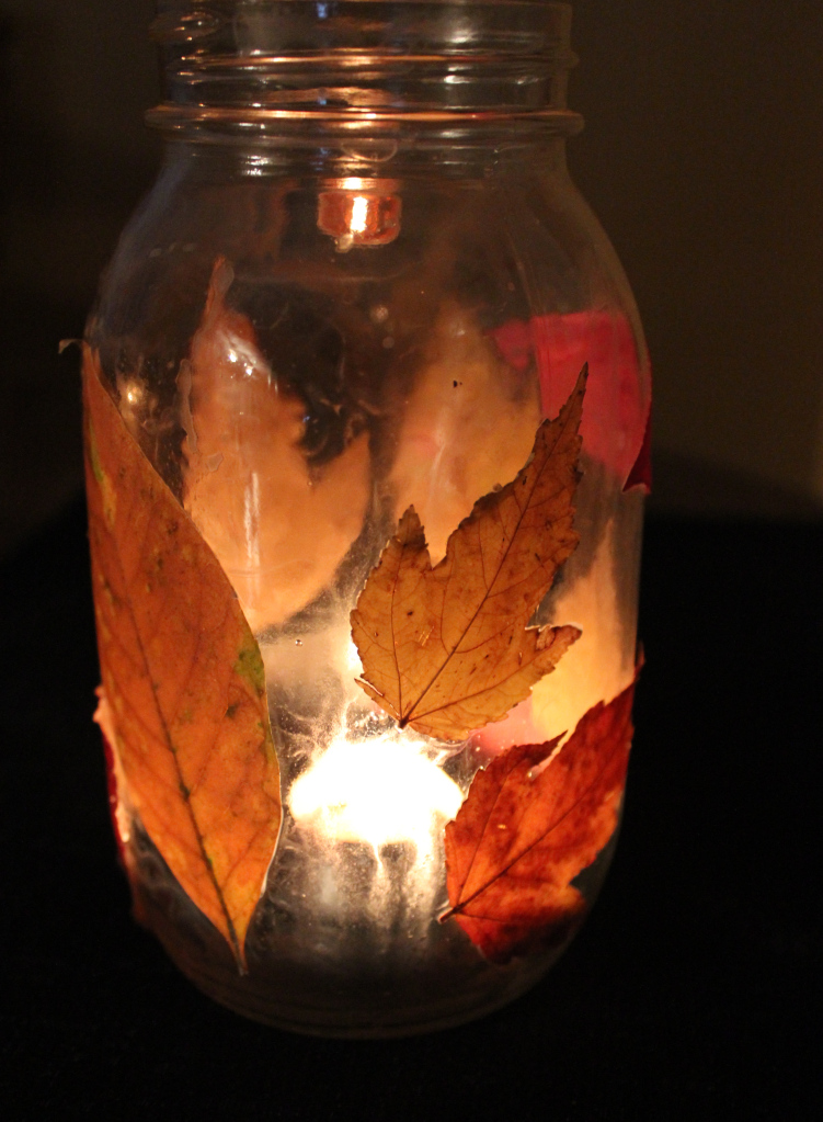 arts and crafts fun fall activities leaf lantern