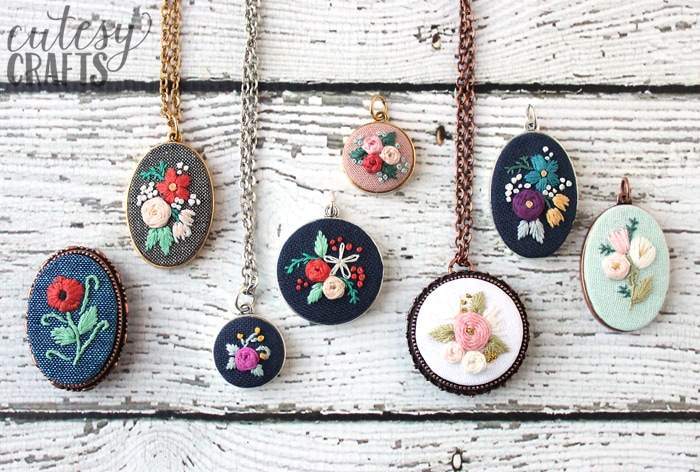 best free embroidery patterns embroidered necklace