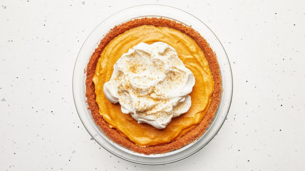 best pumpkin pie recipe chiffon pie