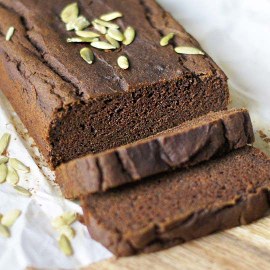 vegan bread healthy pumpkin bread recipe